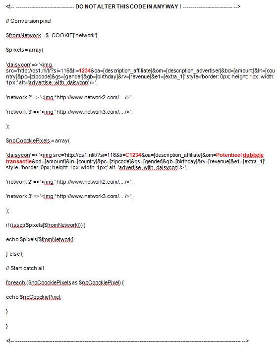 Voorbeeld LCC script