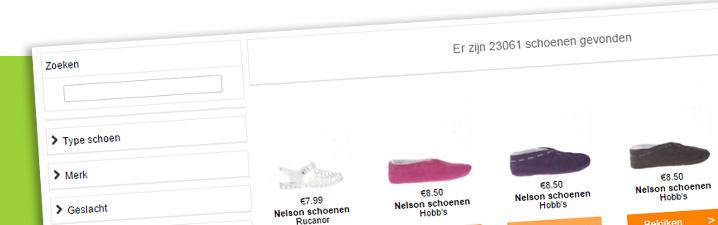 Schoenenvergelijker